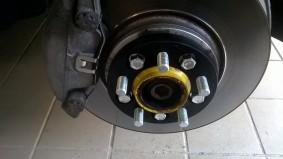 Audi A5 distanziali 30mm post. 20mm ant.