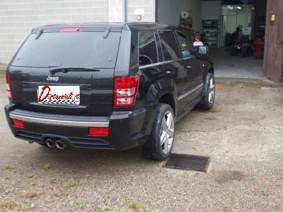 Grand cherokee SRT8 distanziali 30mm